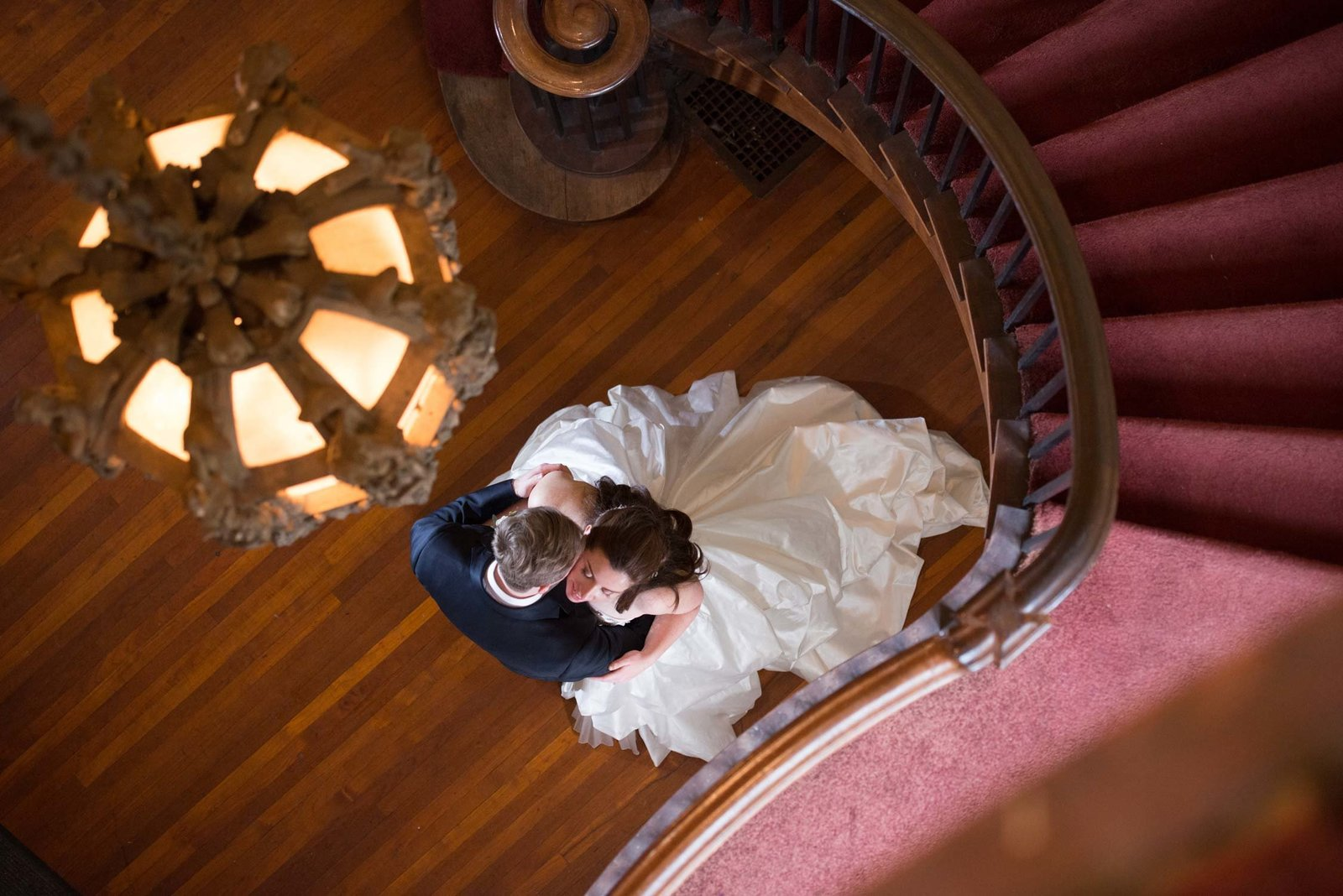 Coindre Hall top wedding photos