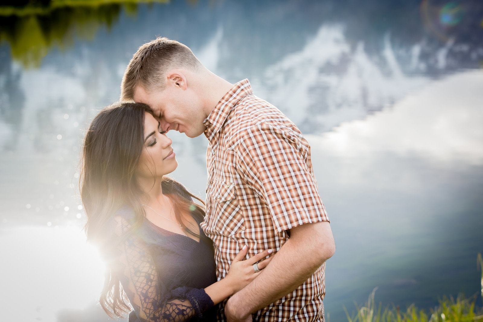 Engagement Session at Schwabacher's Landing