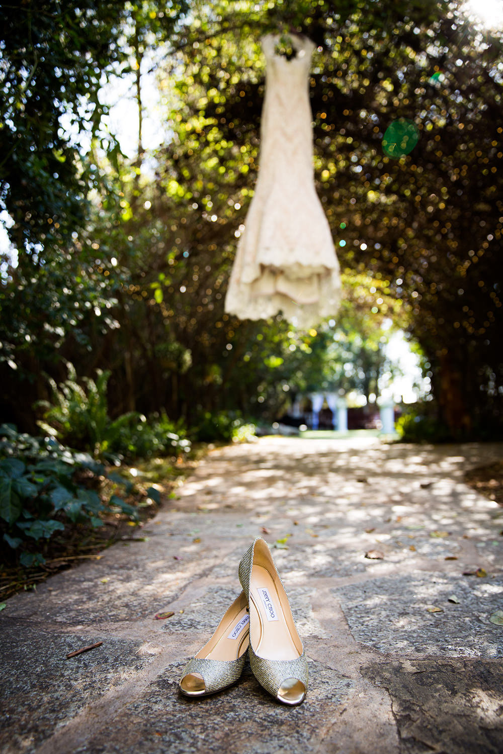Wedding details at Twin Oaks Garden Estate