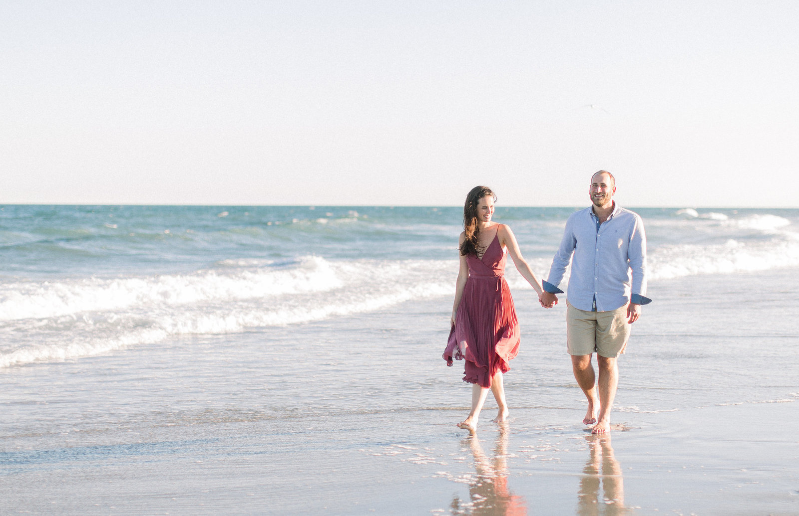 Margate Beach Engagement Session