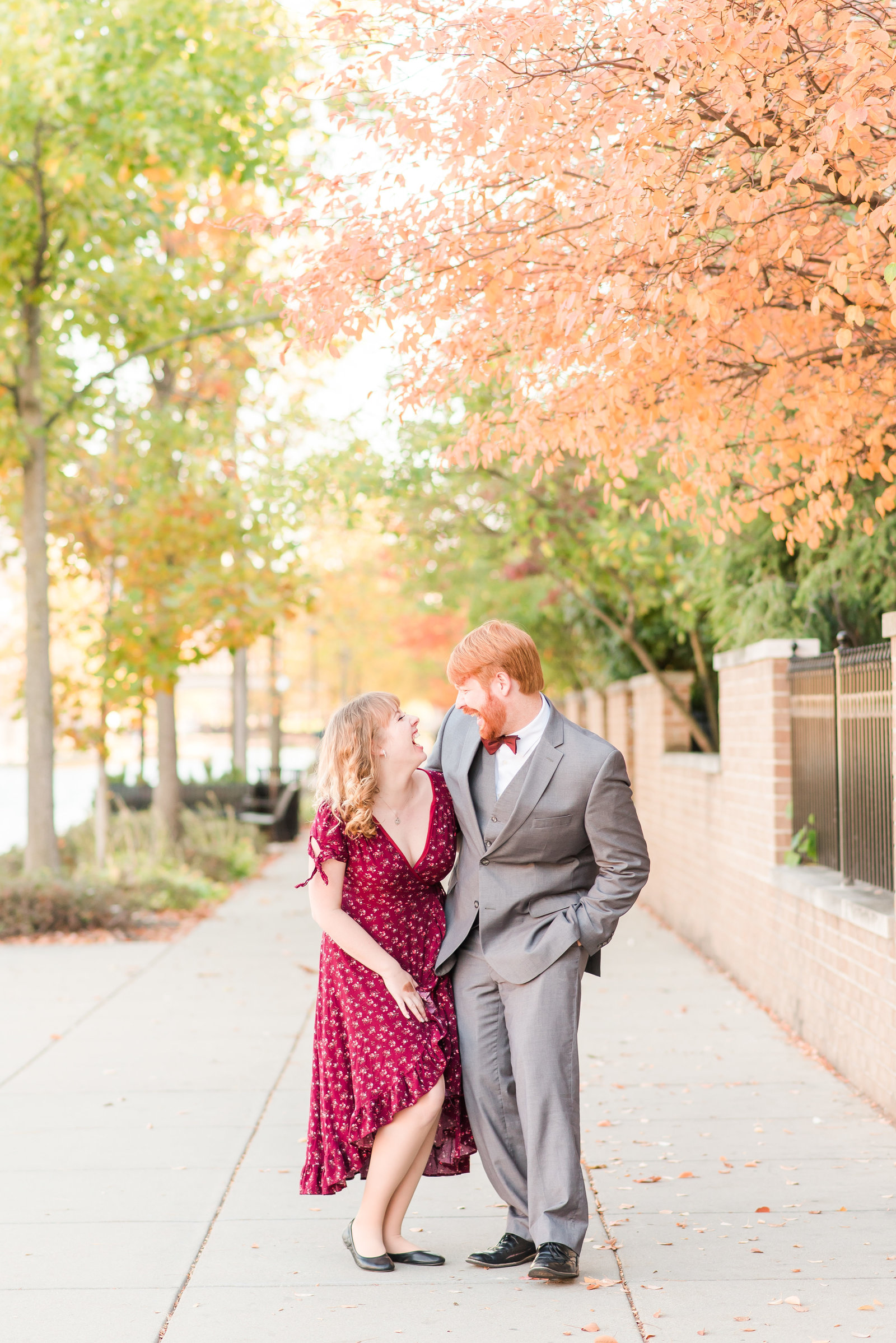 Indianapolis Canal Engagement Session