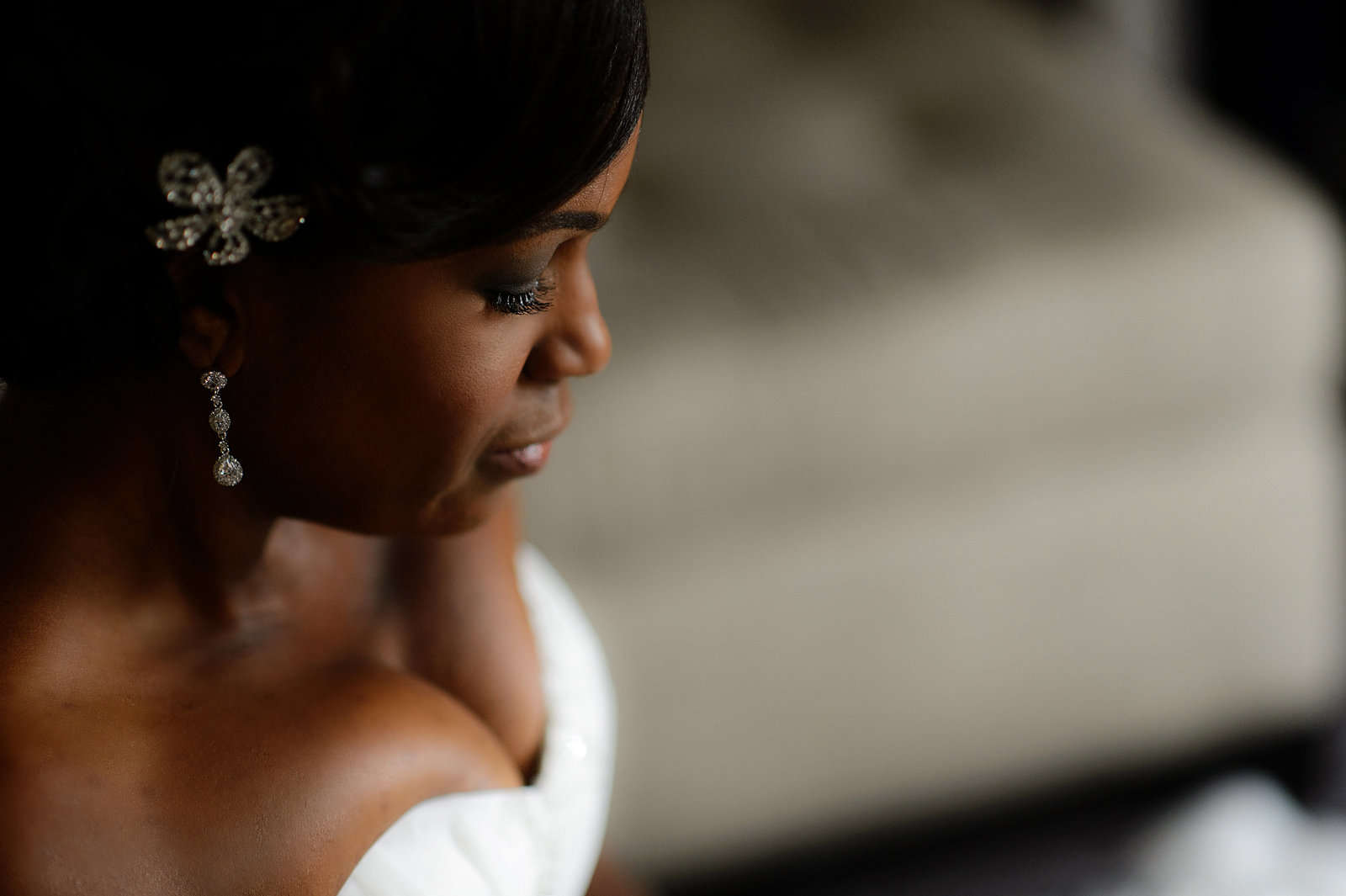 Hotel Palomar  bridal portrait  photo by Girl Photography