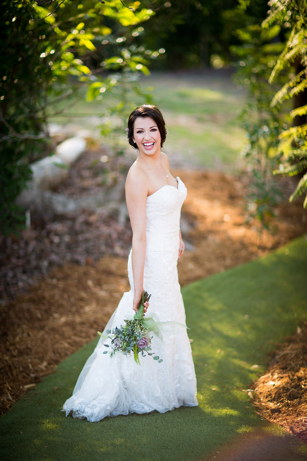 Ethereal Resort wedding photos beautiful bride outdoors