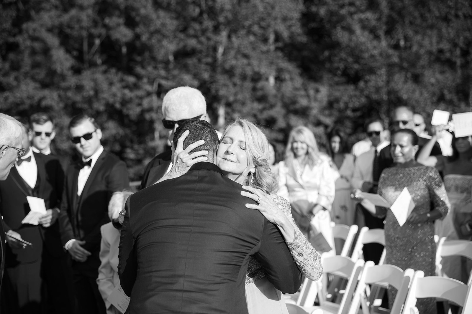 M Harris Studios_Trump National Golf Club Wedding_outdoor wedding ceremony