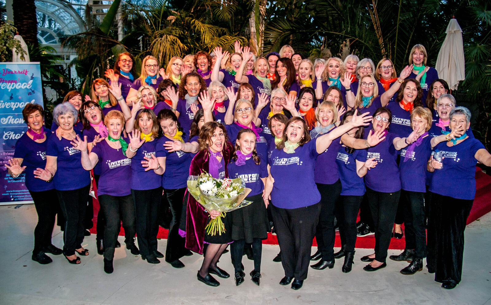liverpool show choir flowers