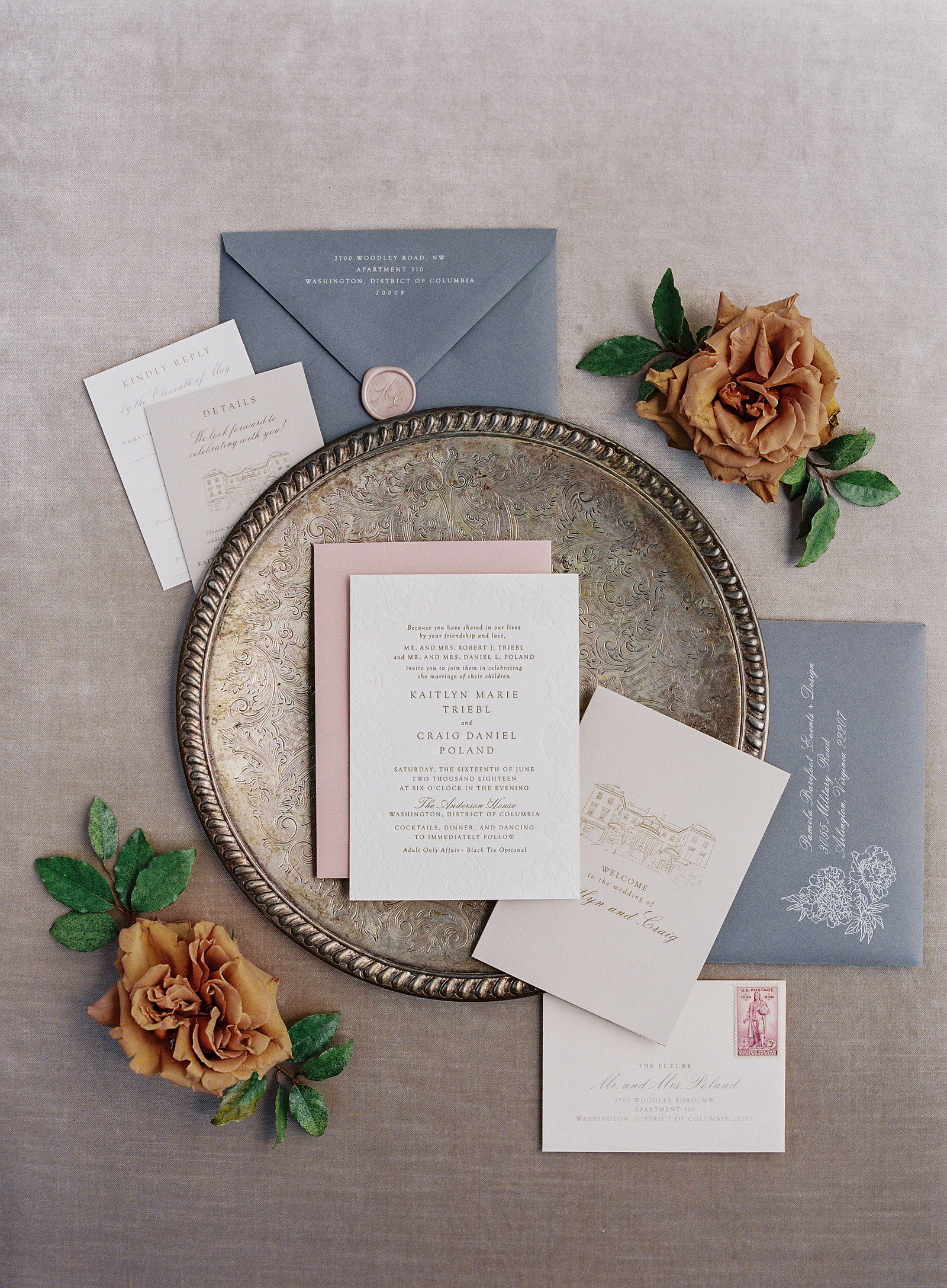 anderson house dc wedding invitations