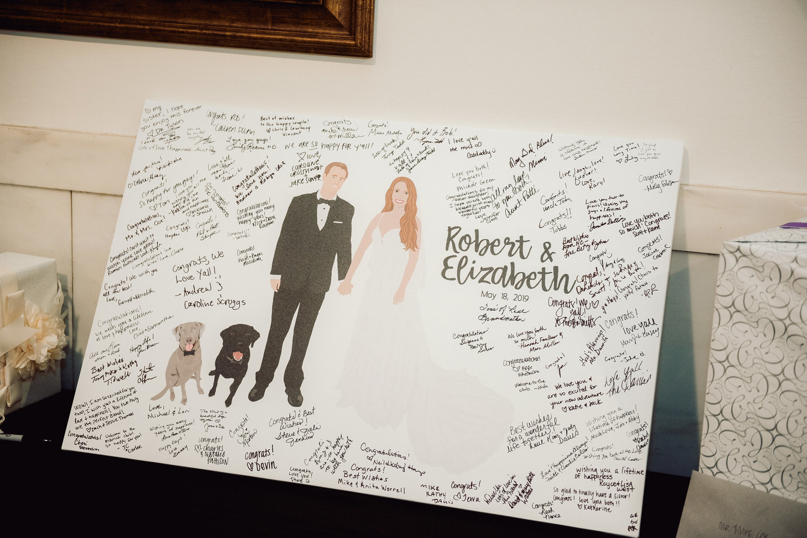 Custom wedding guest book / Sterling Imageworks