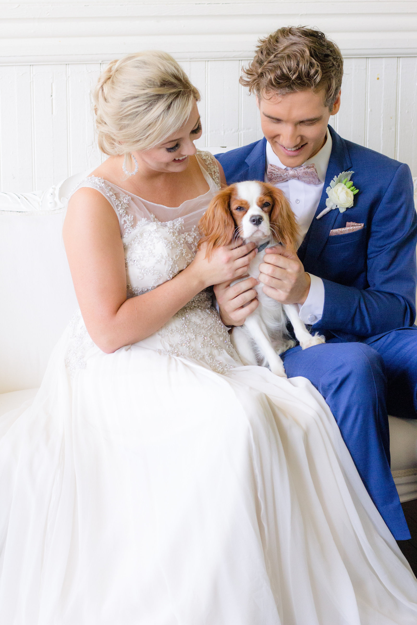 Nashville Wedding Photography | Wedding Photos with Puppies