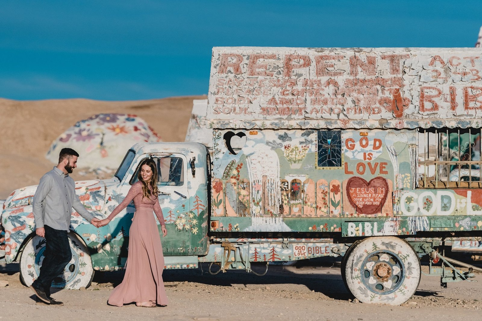 Salvation mountain Engagement 026