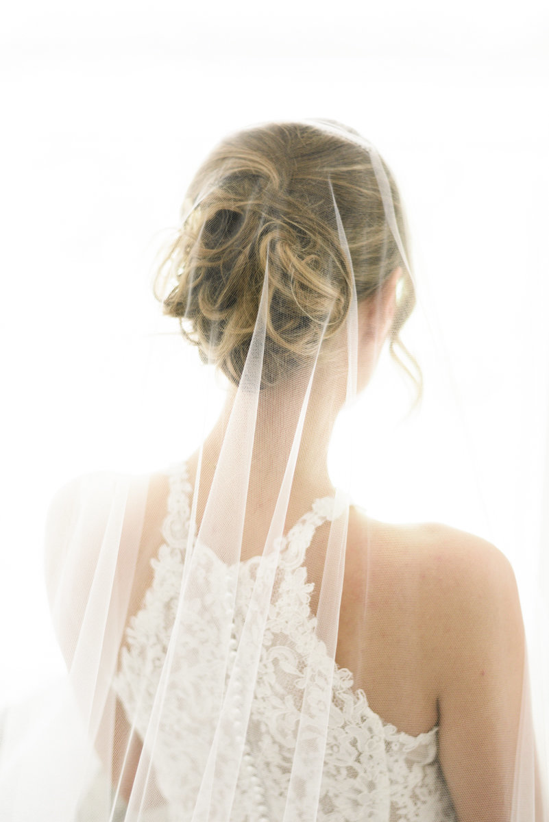 Bride from the back of head-1