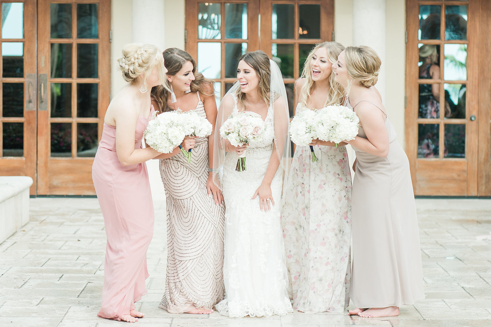 Bridal Party - Cheeca Wedding - Palm Beach Wedding Photography by Palm Beach Photography, Inc.