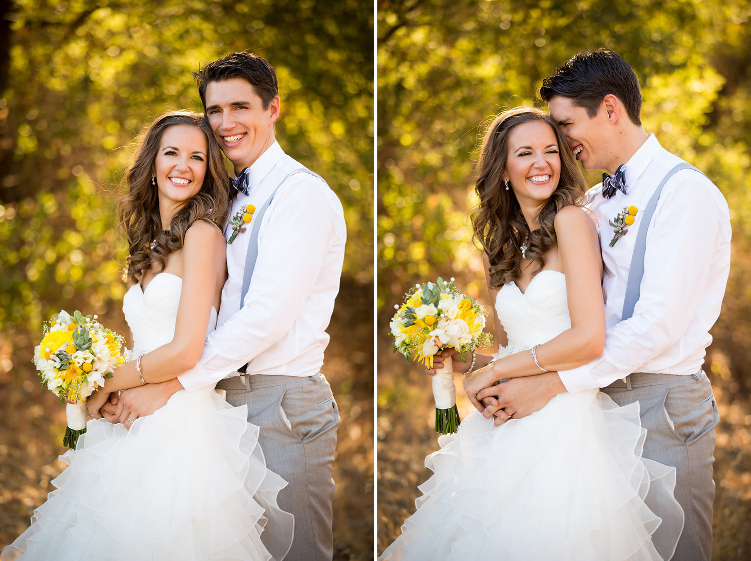 Destination wedding photos stunning couple in open field
