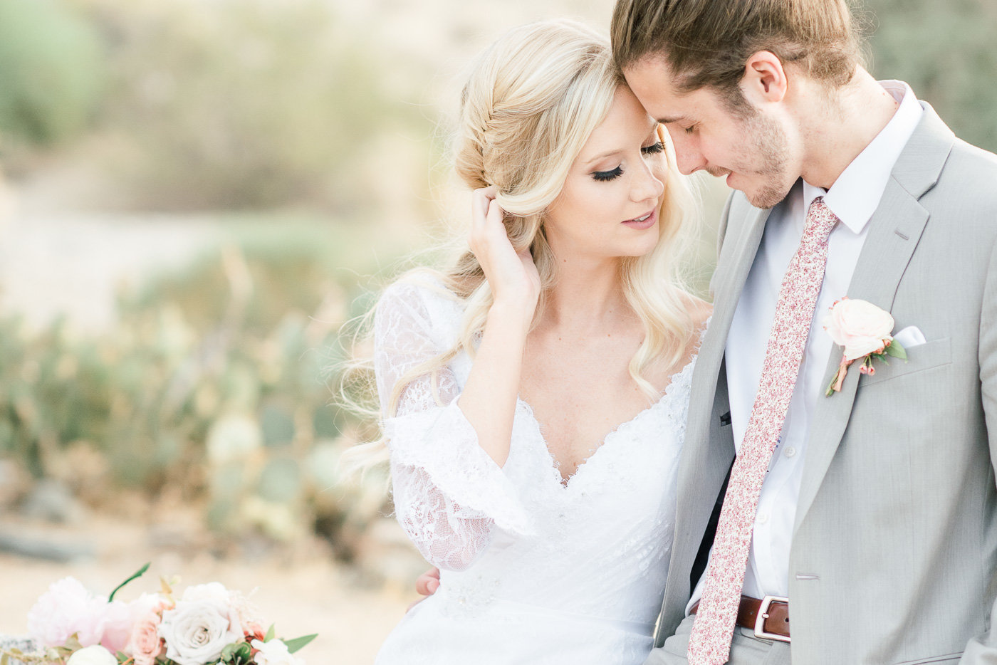 Arizona Wedding Photo with Tucson Wedding Photographer Bryan and Anh