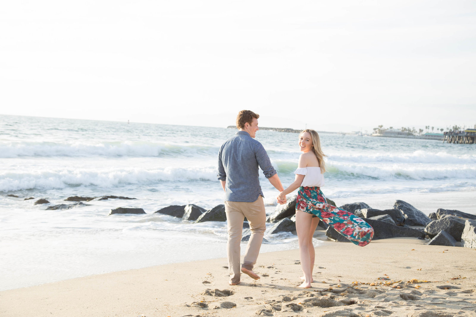 Redondo beach engagement session - Kelly H Photo
