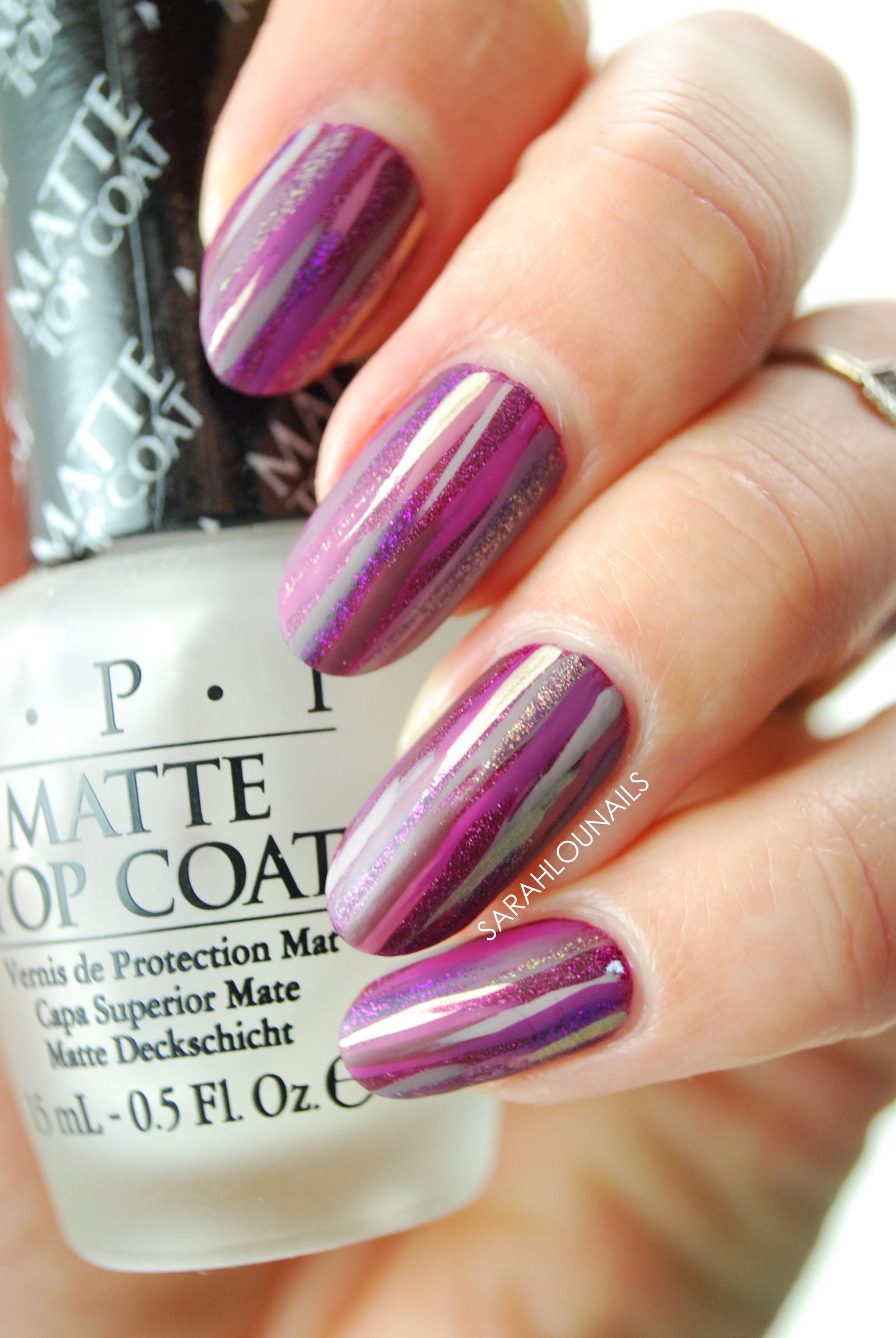 Purple Stripes Matte 3