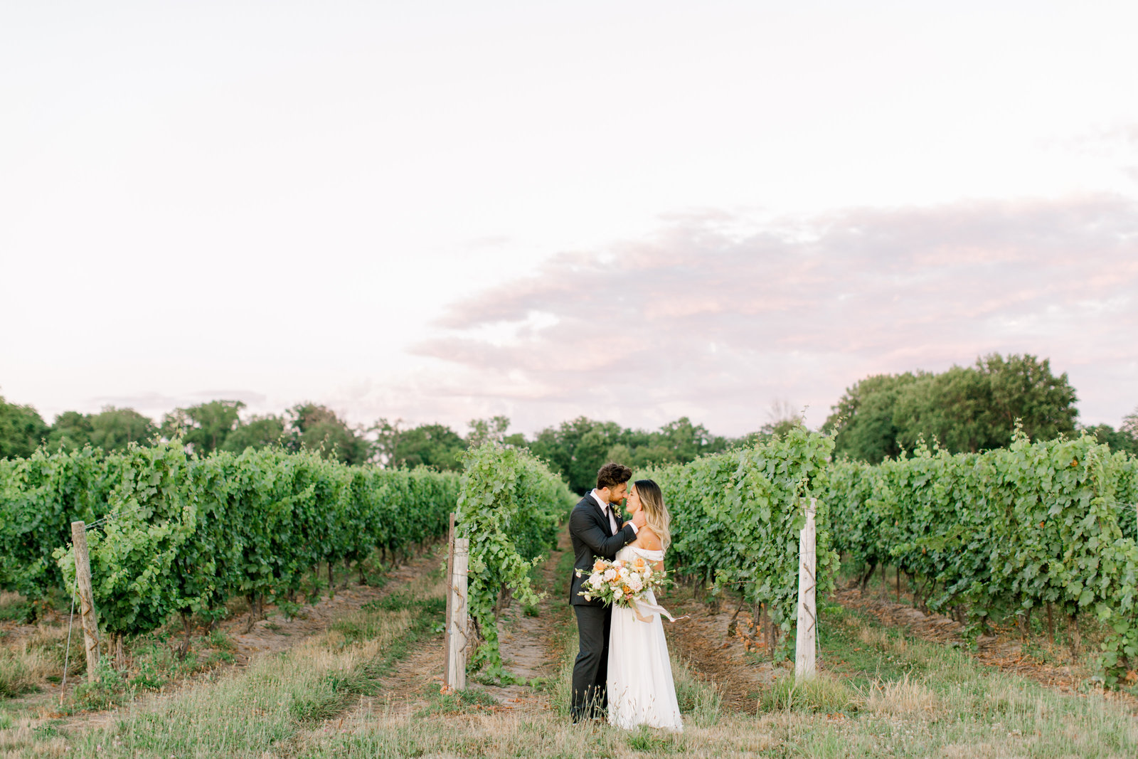 Jacqueline James Photography | Jacqueline James and Braden Gracewood Estates Vineyard Kurtz Orchard Winery Niagara Ontario Toronto Wedding Photographer