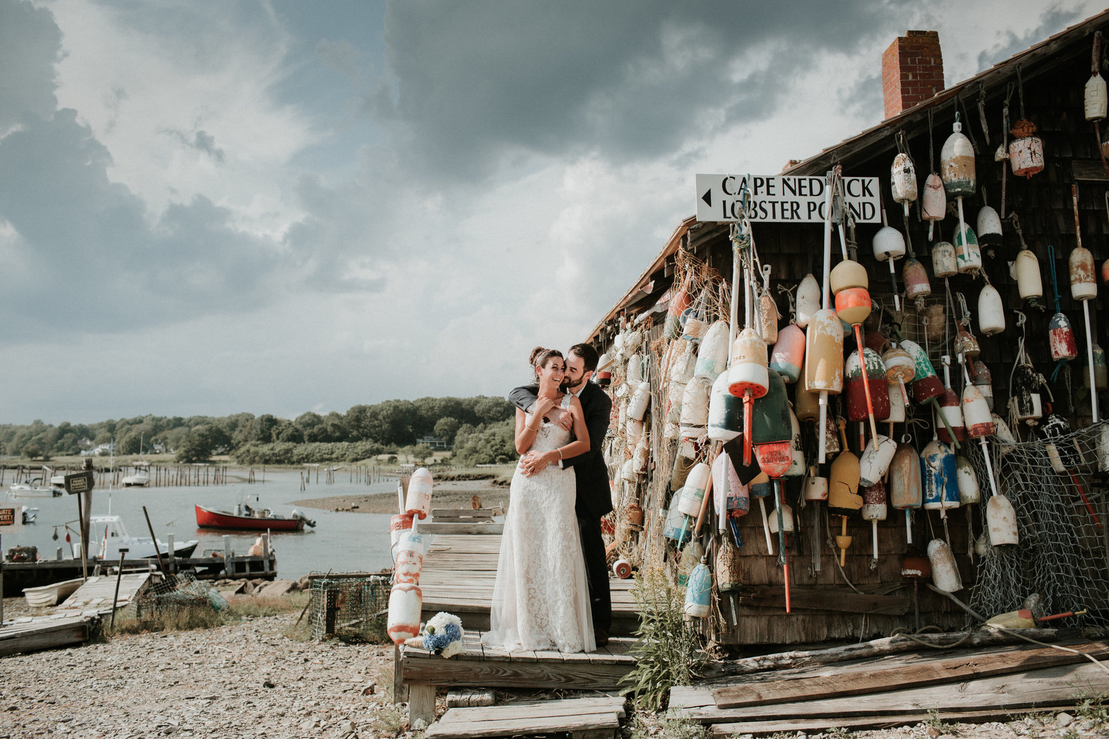 Cape Neddick Lobster Pound Wedding-21
