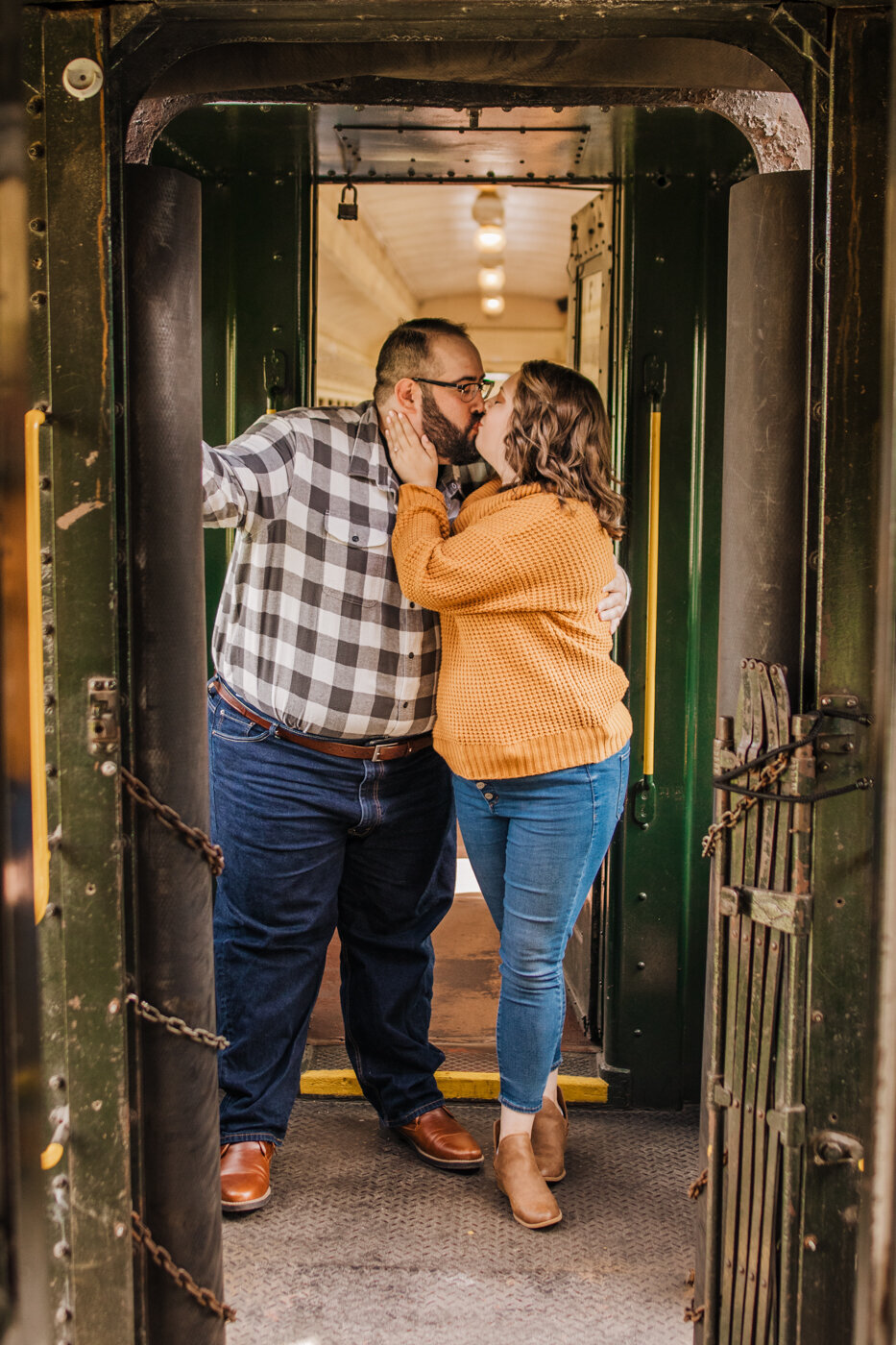 Essex Steam Train Engagement Pictures