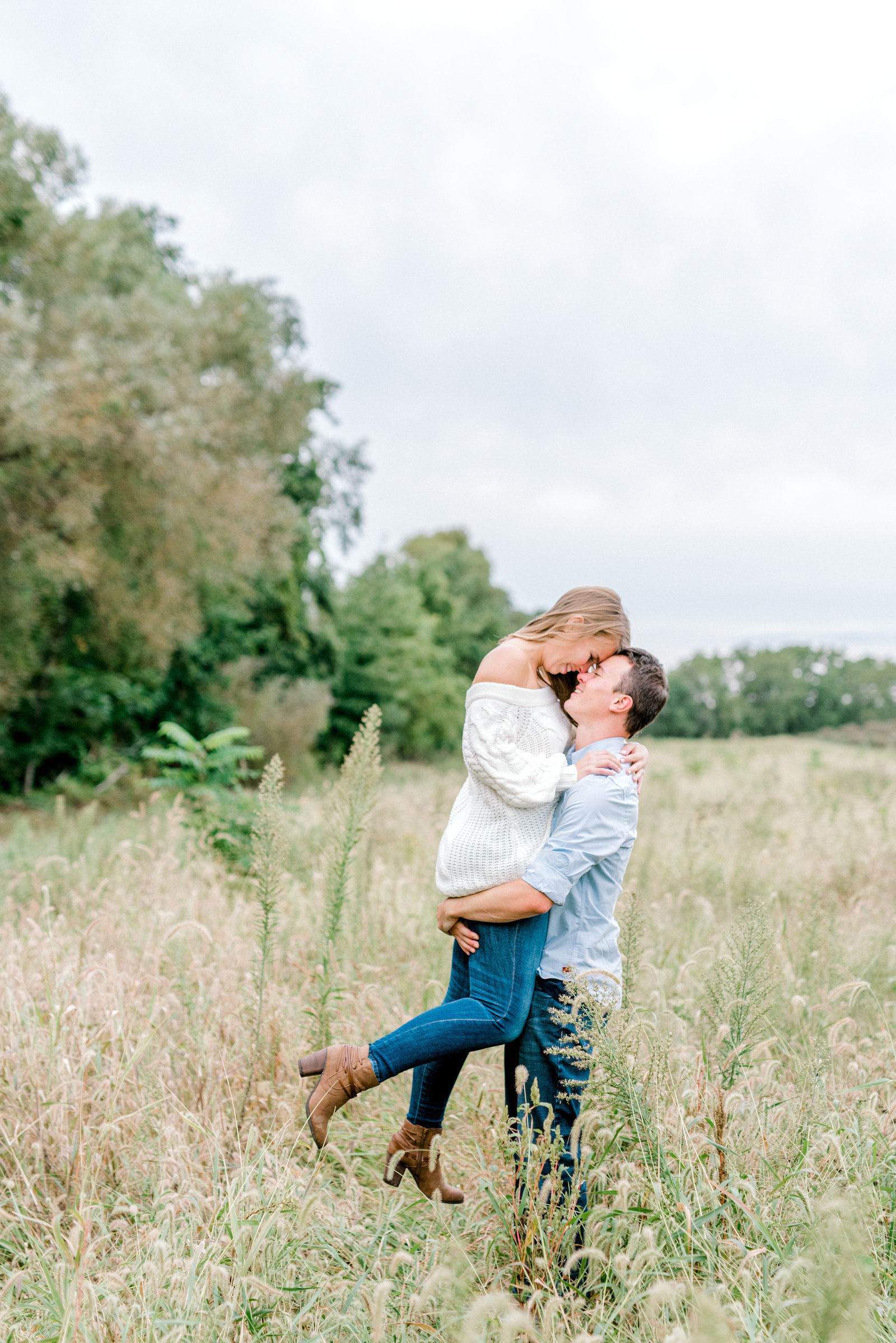 Quincy Cellars Engagement Session on Lake Erie