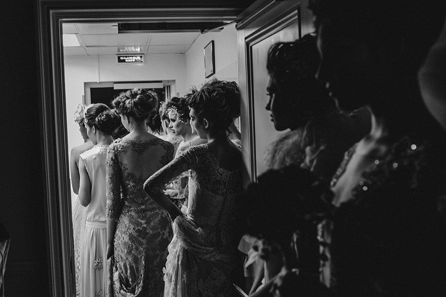 a6ddeb242ee Silk Velvet Wedding Dress in a Belle Epoque Inspired StyleJoanne ...