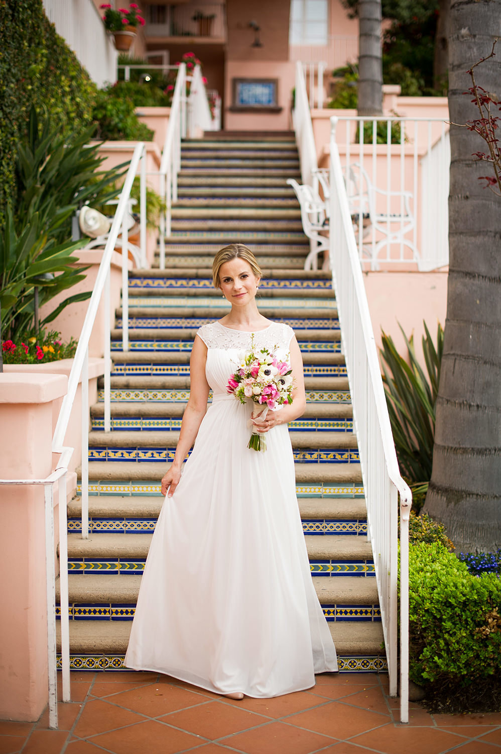 Top bridal portrait locations at La Valencia