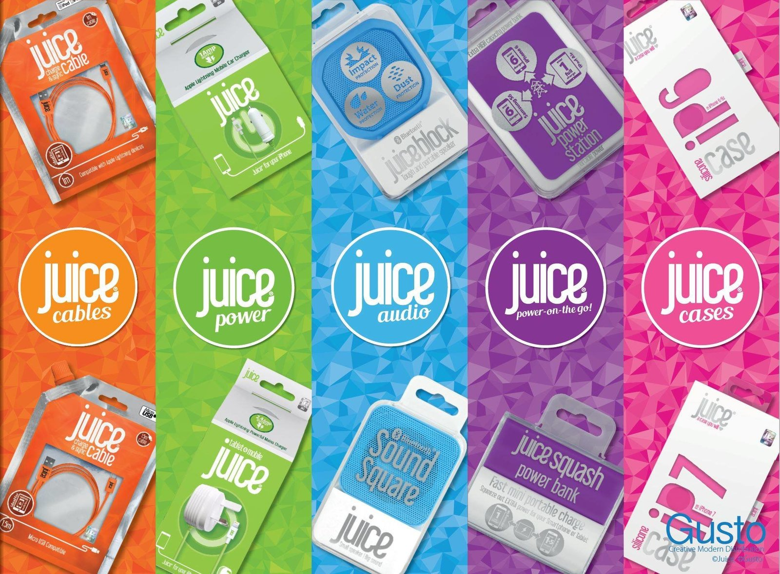juice accessory design and branding designed in worcestershire