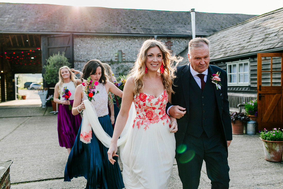 vibrant-colourful-floral-embroidered-wedding-dress-JoanneFlemingDesign-EpicLoveStoryPhotography (3)