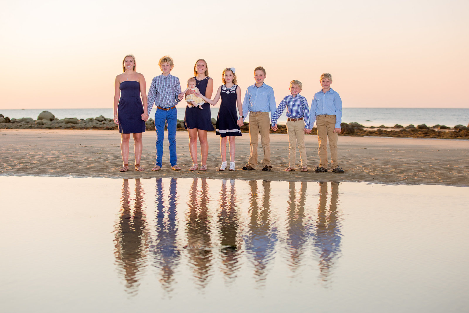 Sesuit Harbor Beach_ Cape Cod Family Portraits_MichelleKayePhotography-