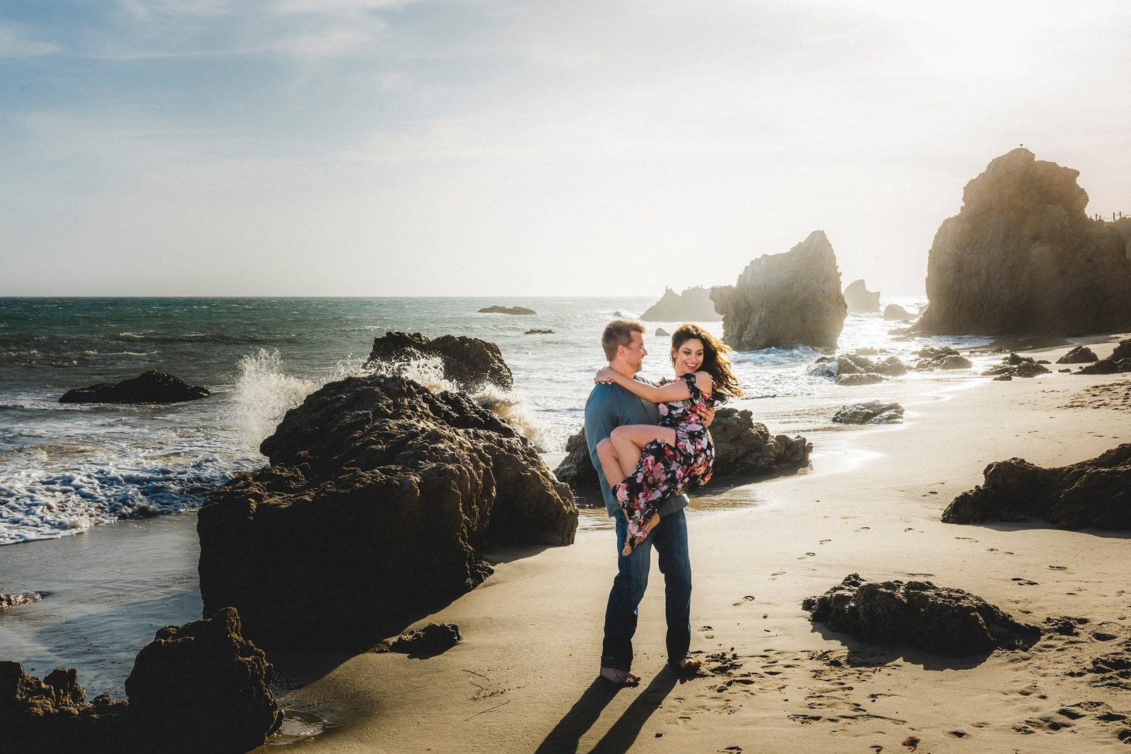Malibu Engagement Session Photographer 011