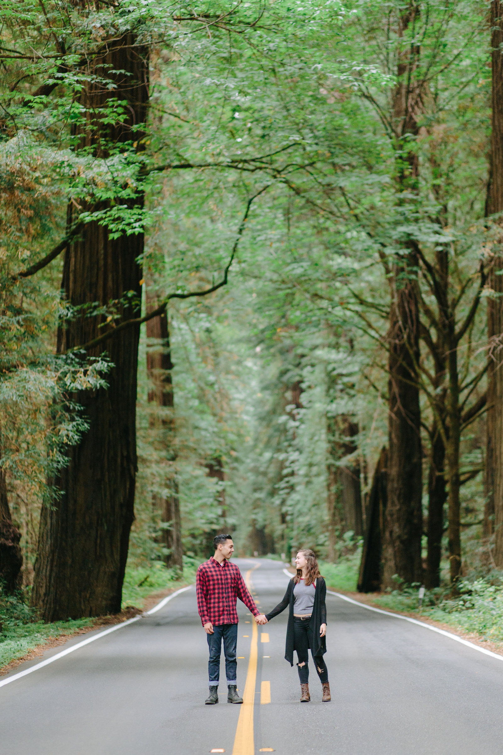 Redwood National Park Avenue of the Giants Engagement Session -7557