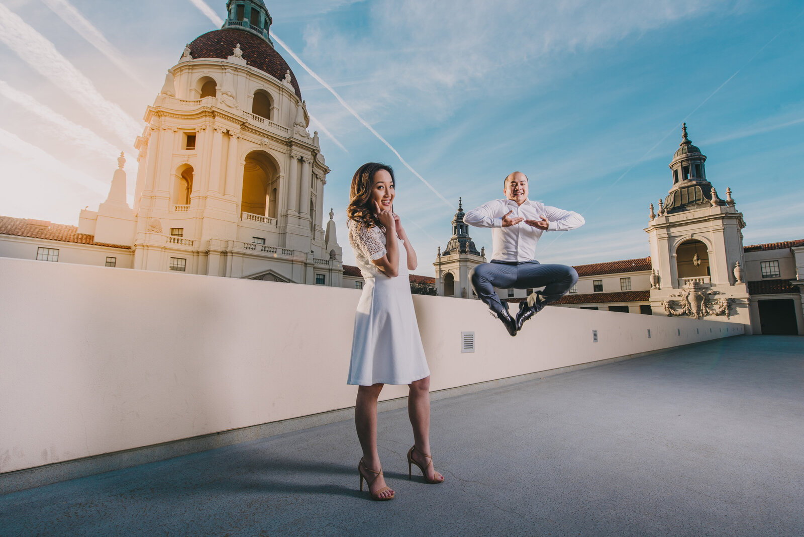 engagement photography pasadena city hall-2