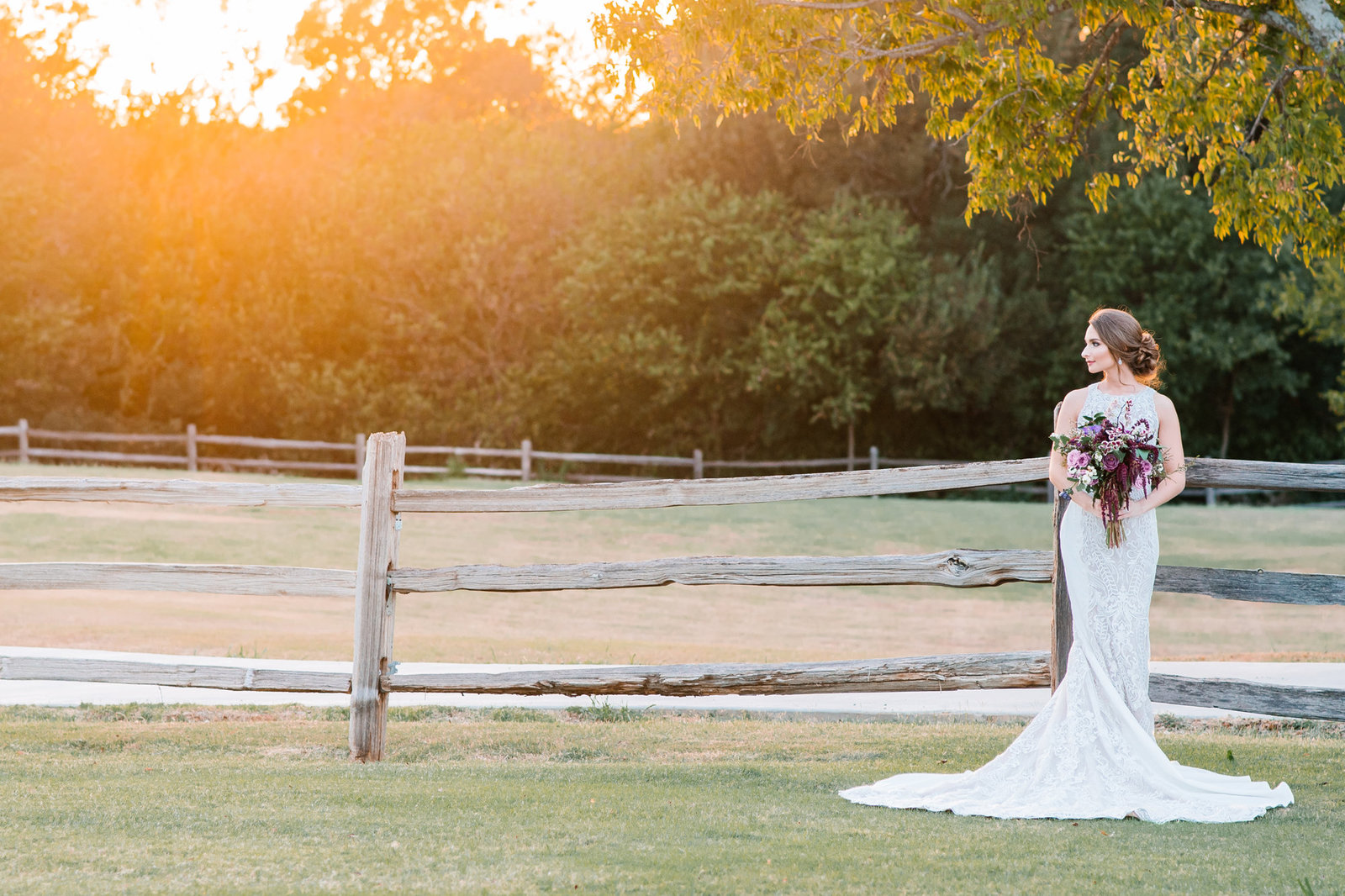 bride at Red Barn Events