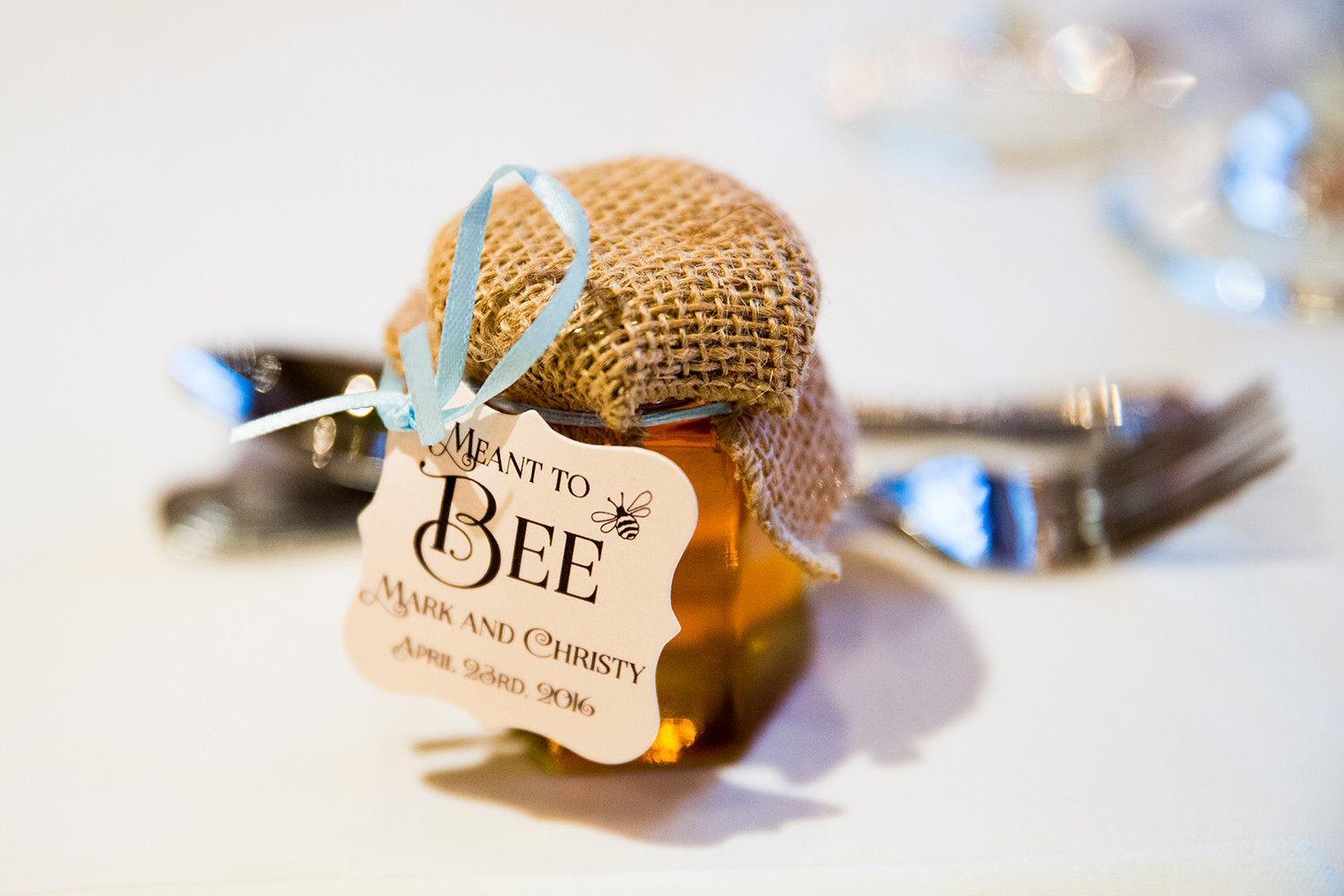 favors at a reception