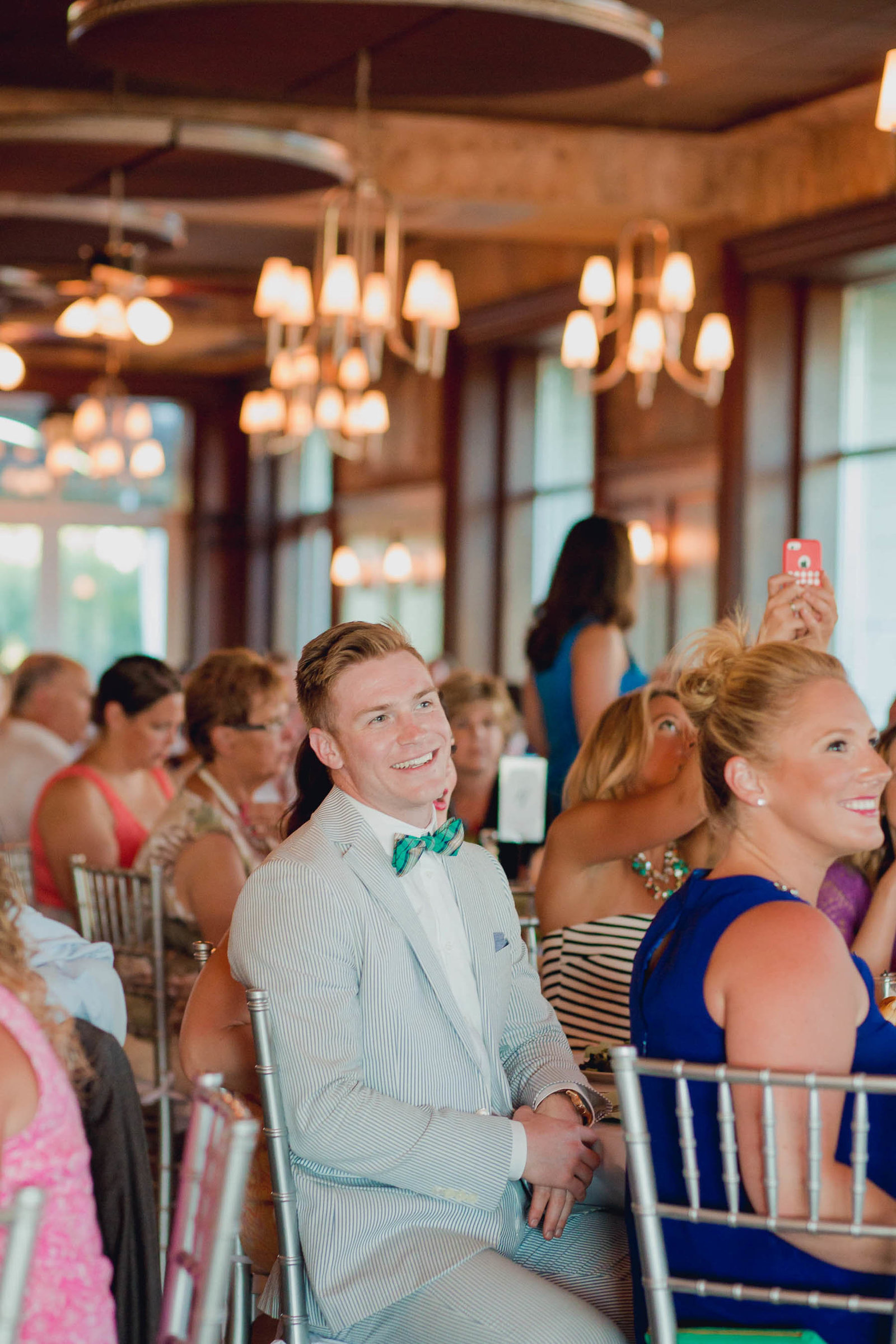 Bride and groom have first dance, Harborside East, Mt Pleasant, South Carolina