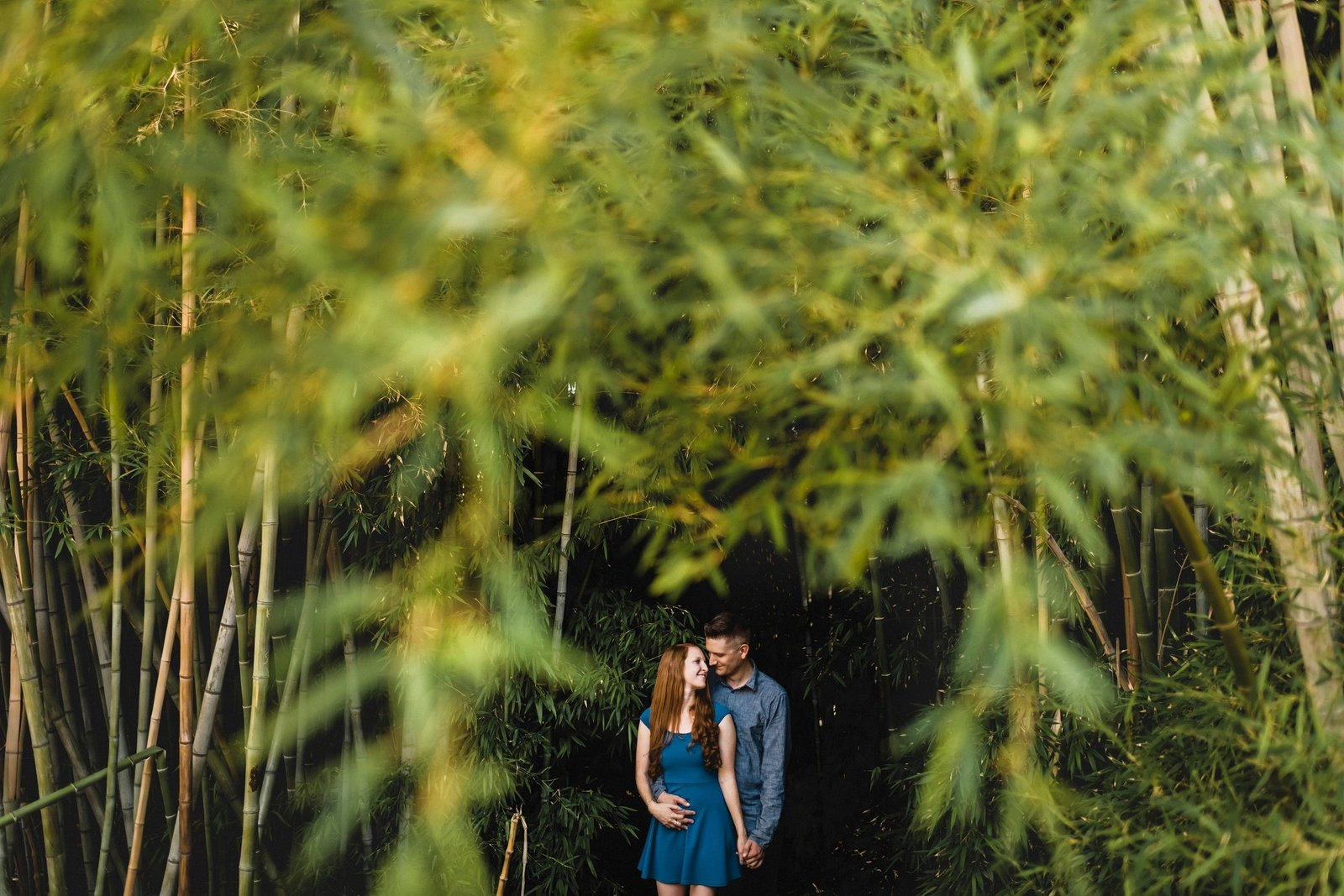 Los Angeles  Arboretum Engagement 016