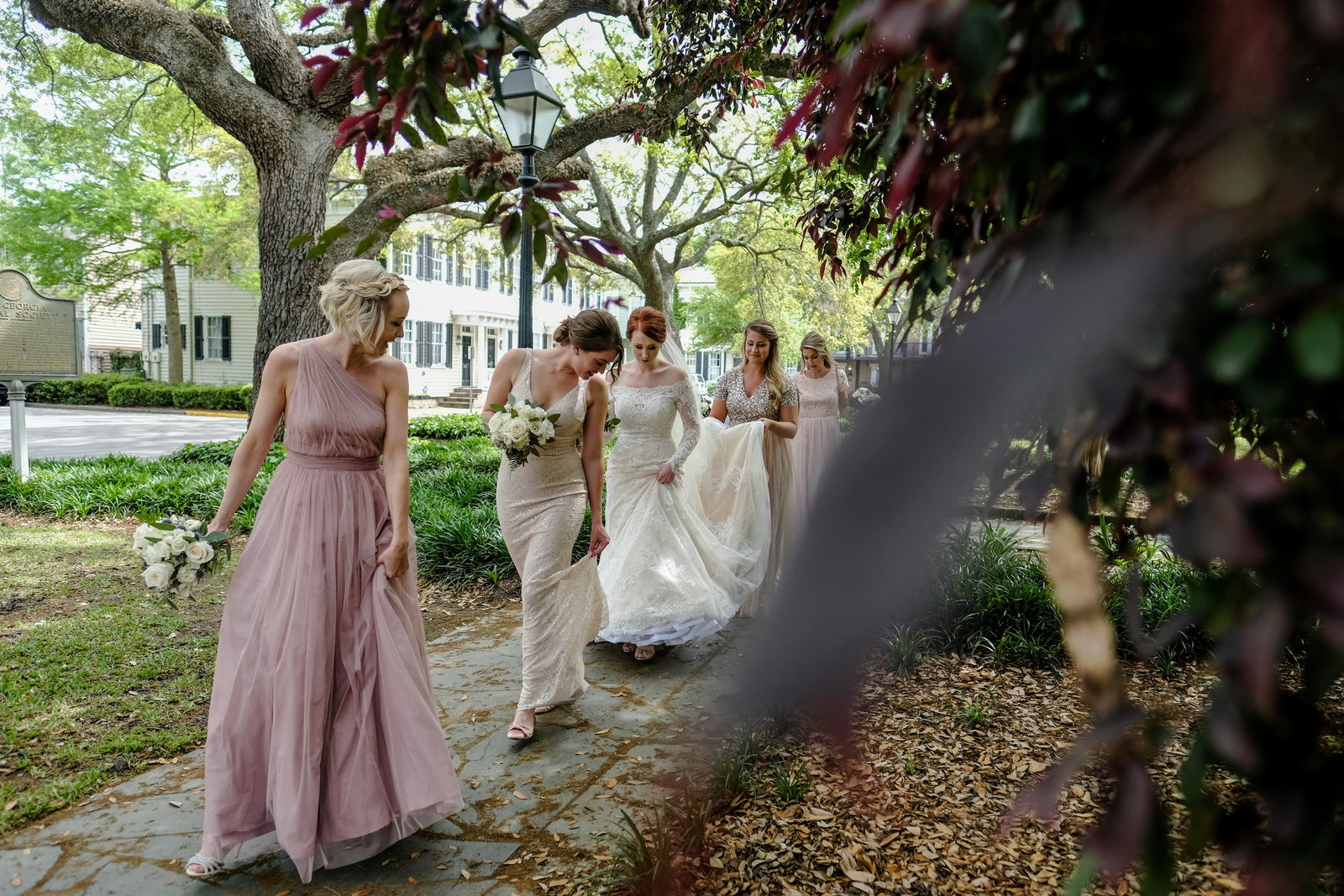 Savannah Wedding Bridesmaids, Bobbi Brinkman Photography