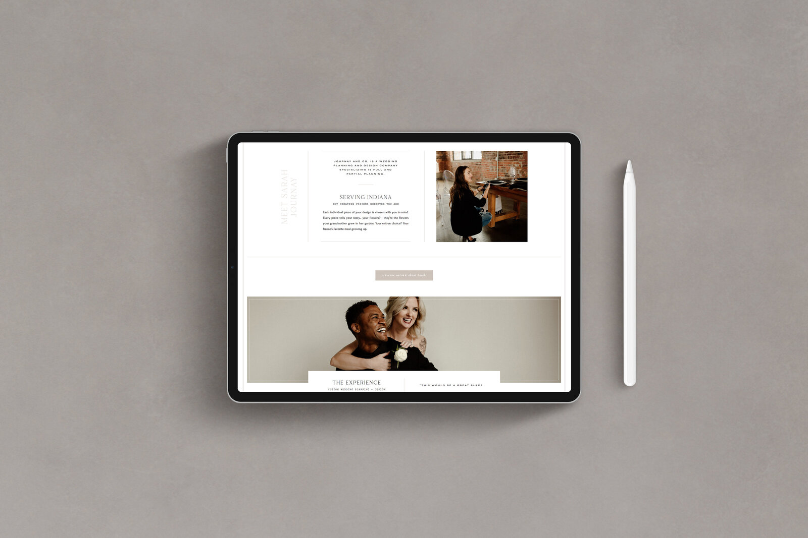 Journay and Co - Formerly Blush Events - Custom Brand and Showit Web Design by With Grace and Gold - Showit Theme, Showit Themes, Showit Template, Showit Templates, Showit Design, Showit Designer - 7