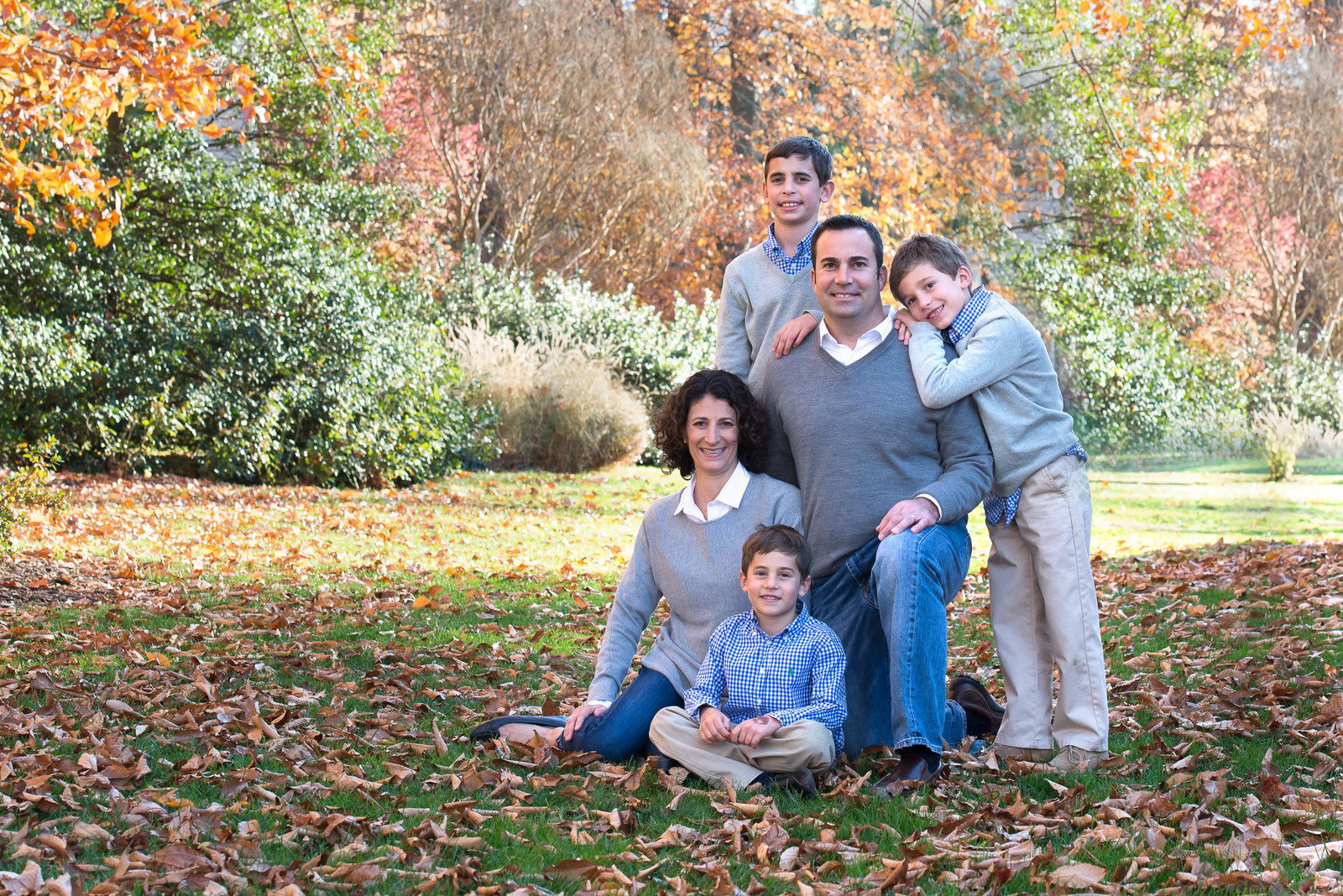 West Chester Pa Fall Family Portraits