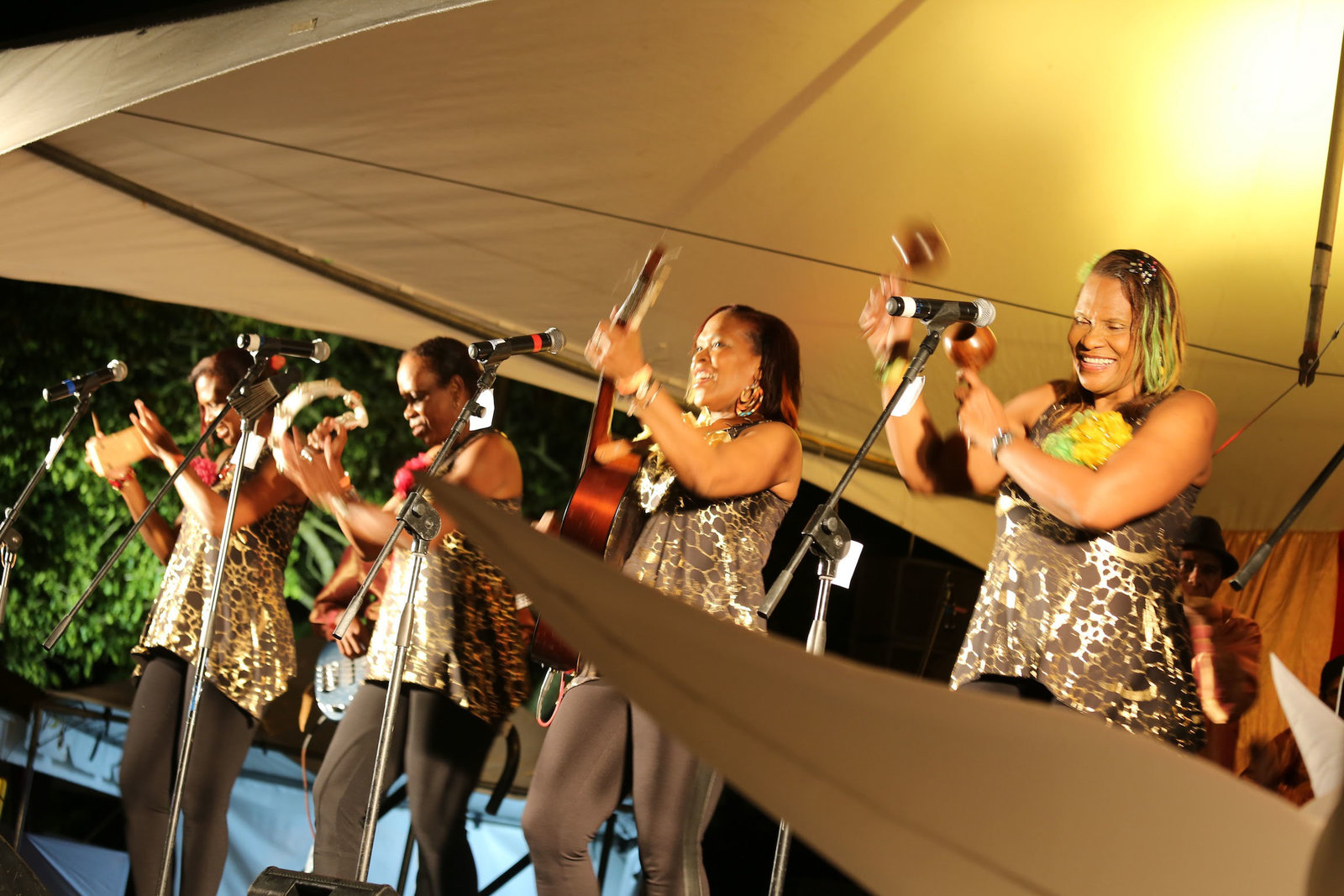 Parang/folk band performing. Photo by Ross Photography, Trinidad, W.I..