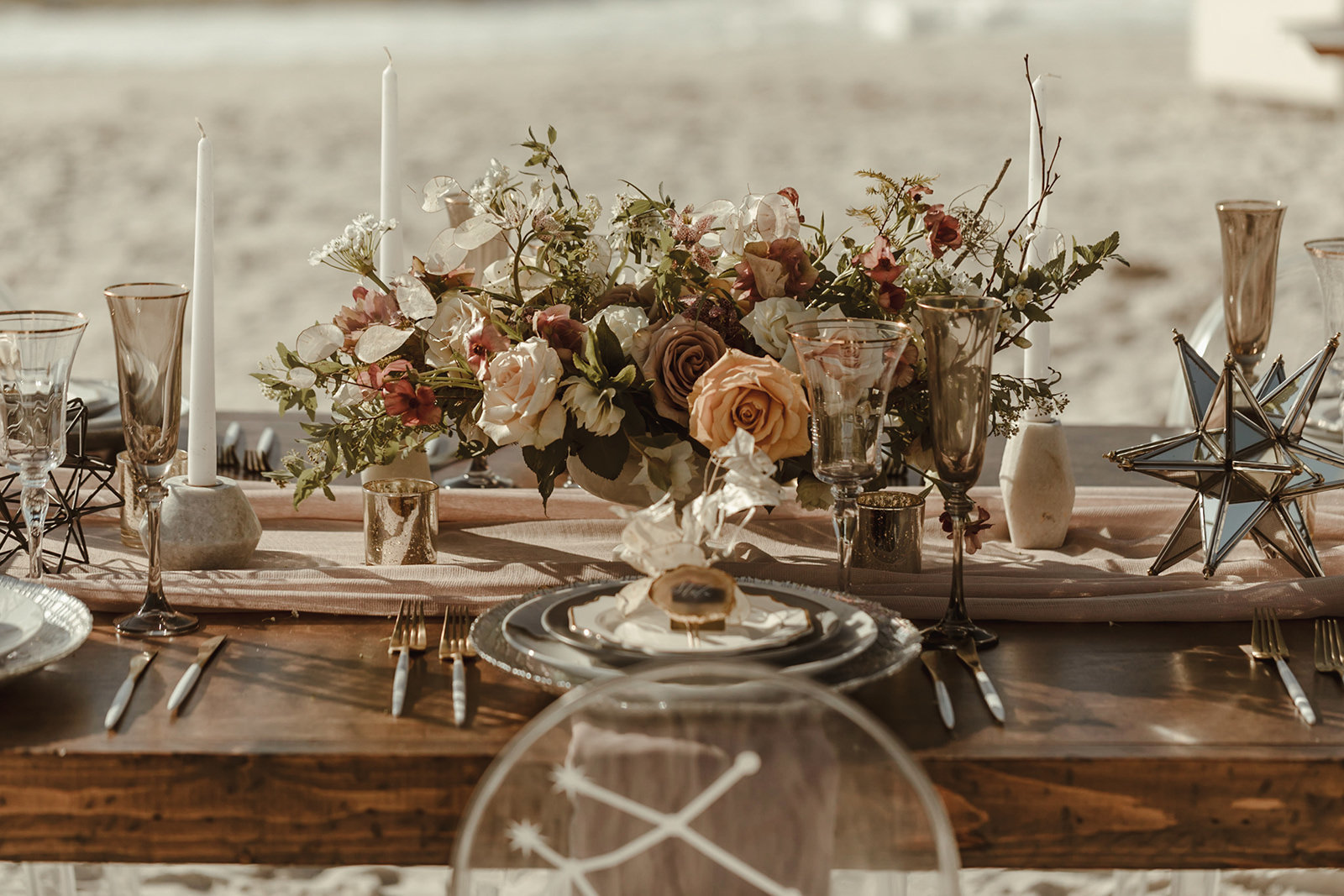 Celestial wedding inspiration_ beach elopement style-64