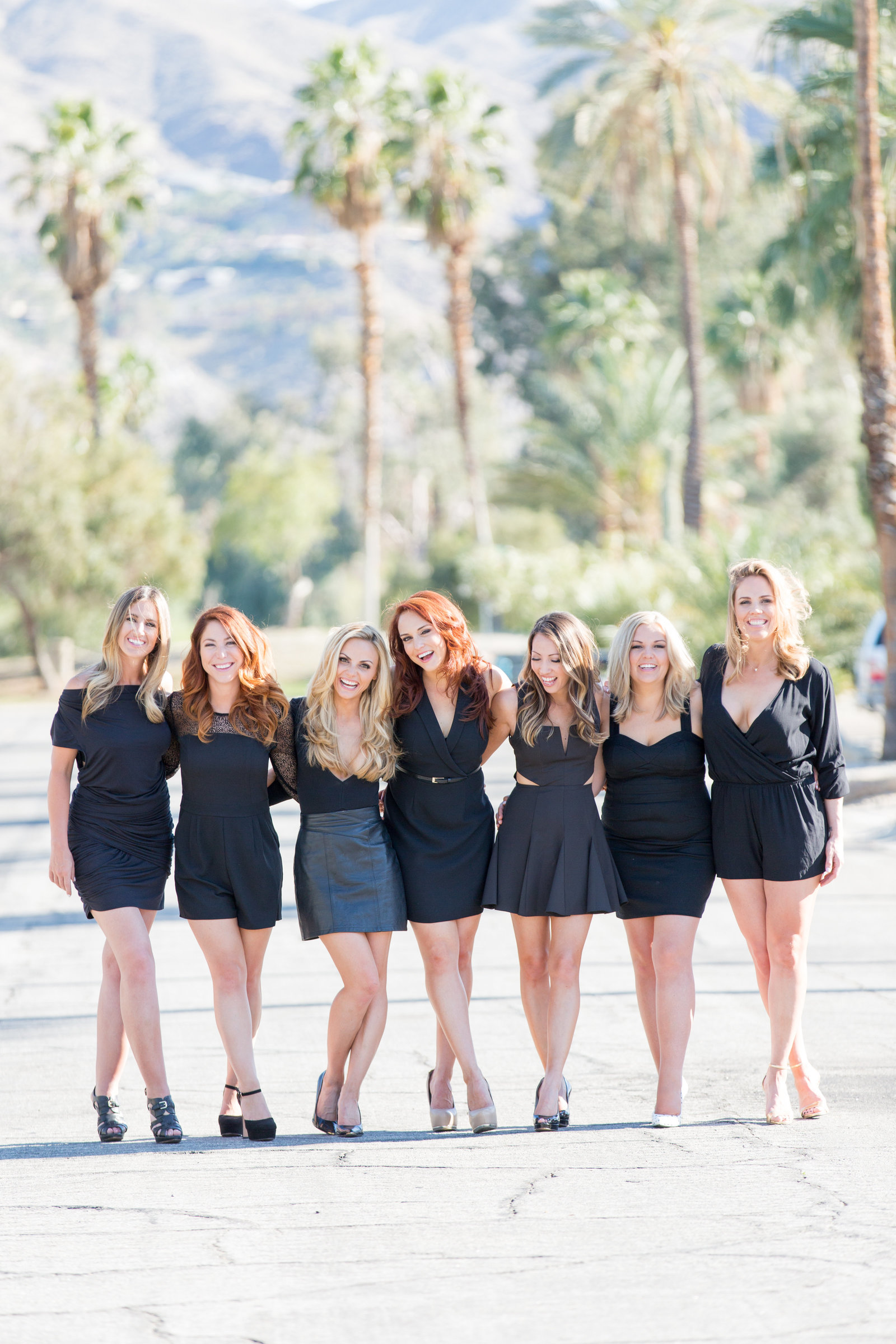 Lifestyle, Girl Squad Fashion Shoot, Palm Springs Photographer