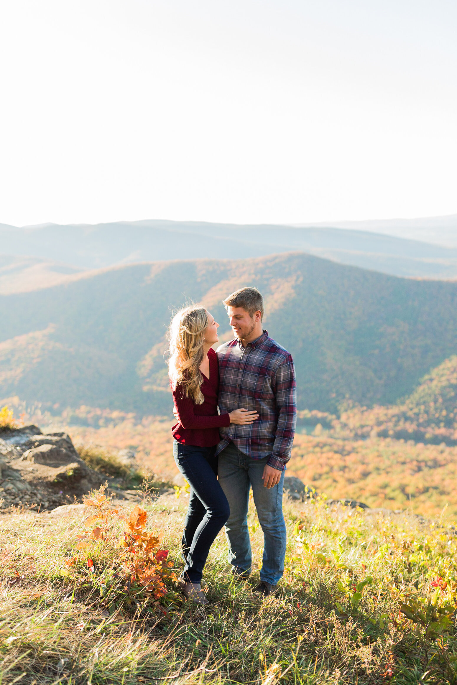 Fall Mountain Engagement Session in the Shenandoah Valley-16