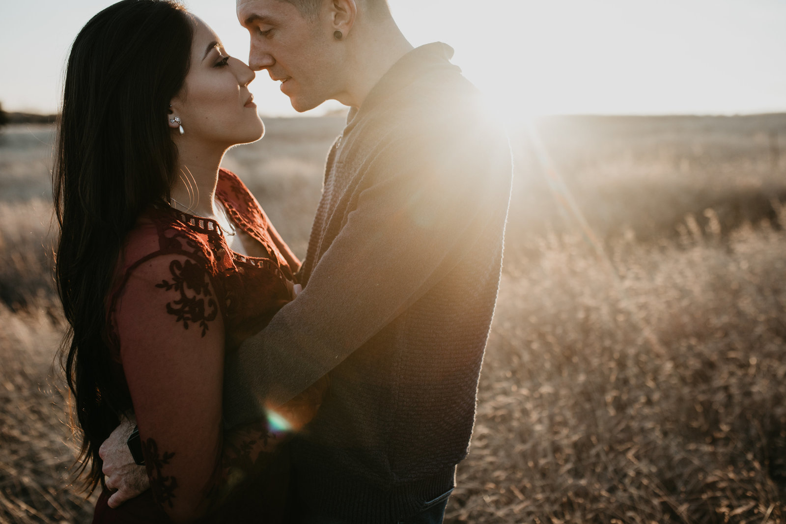 gorgeous engagement session at lake lavon in dallas texas
