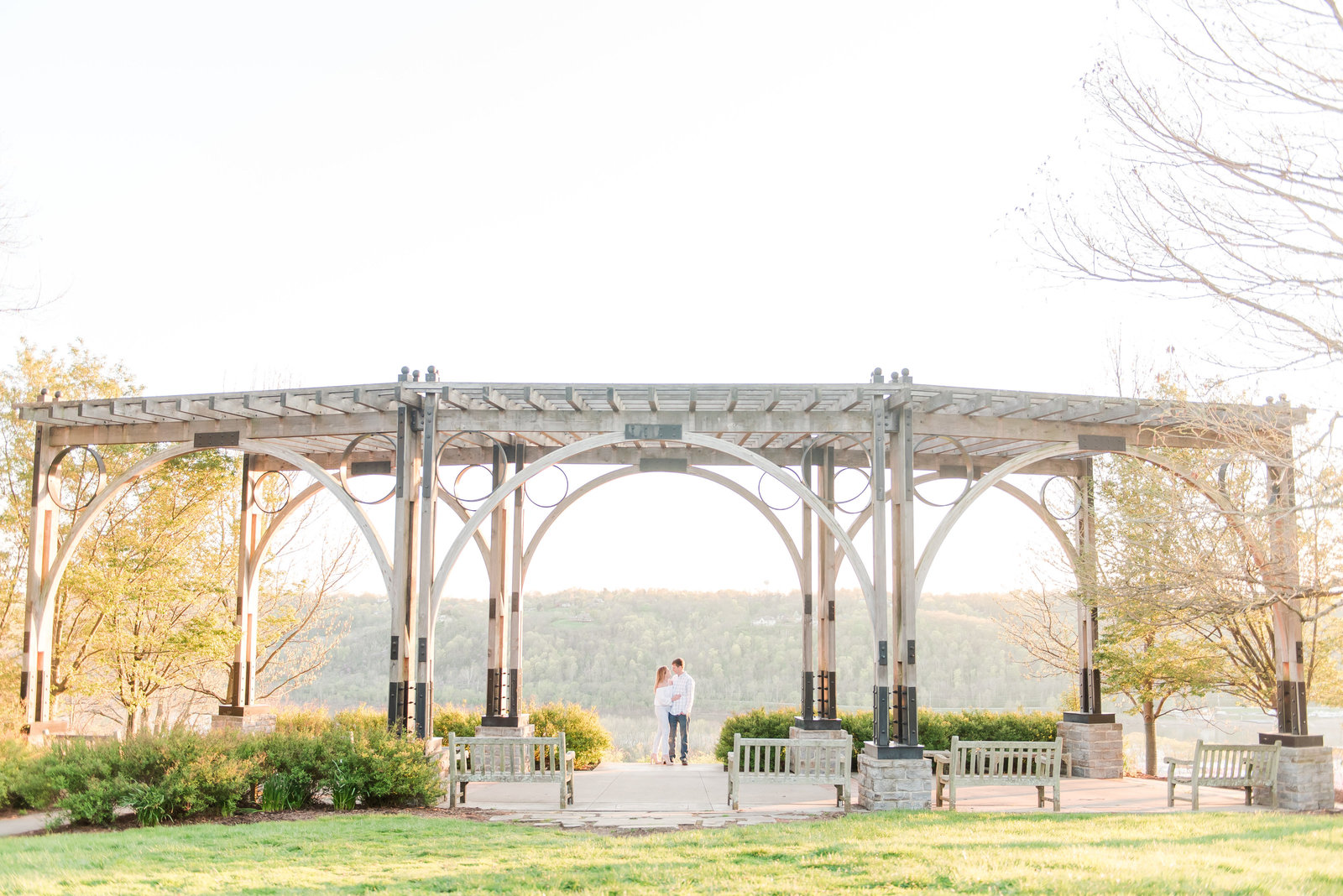 Engagement Session at Alms Park