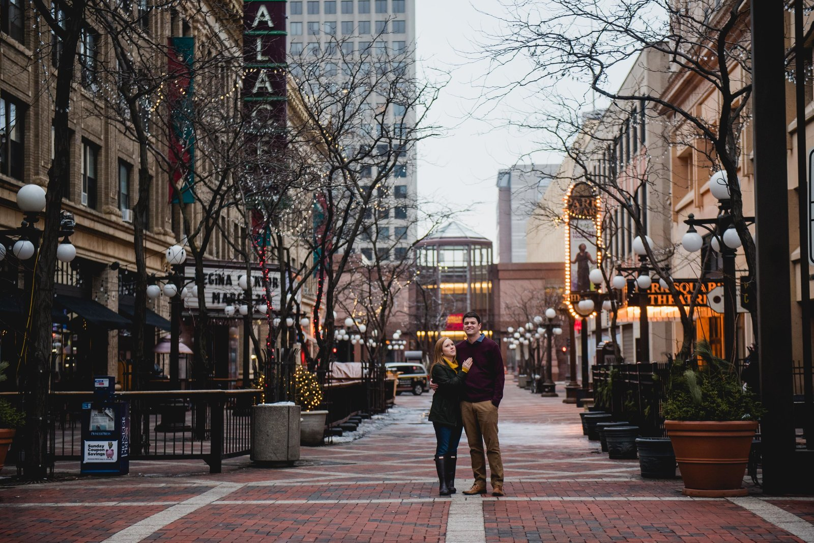 Minnesota Winter Engagement Photos 1364