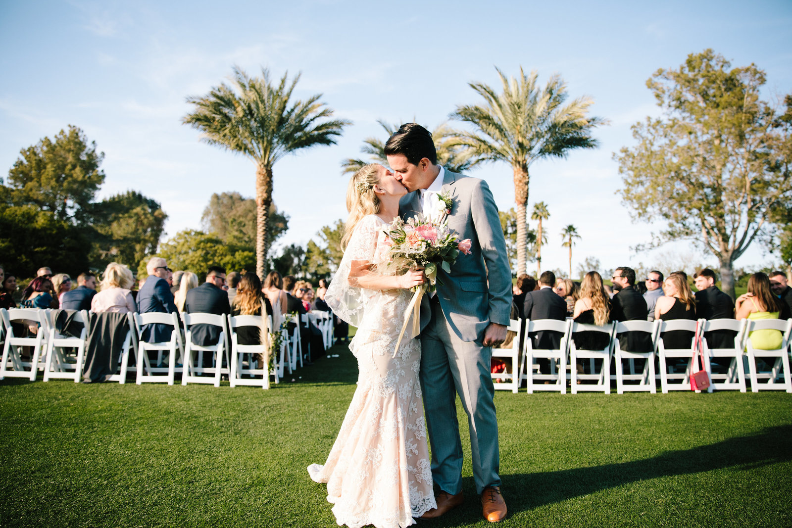 married in palm springs wedding ceremony