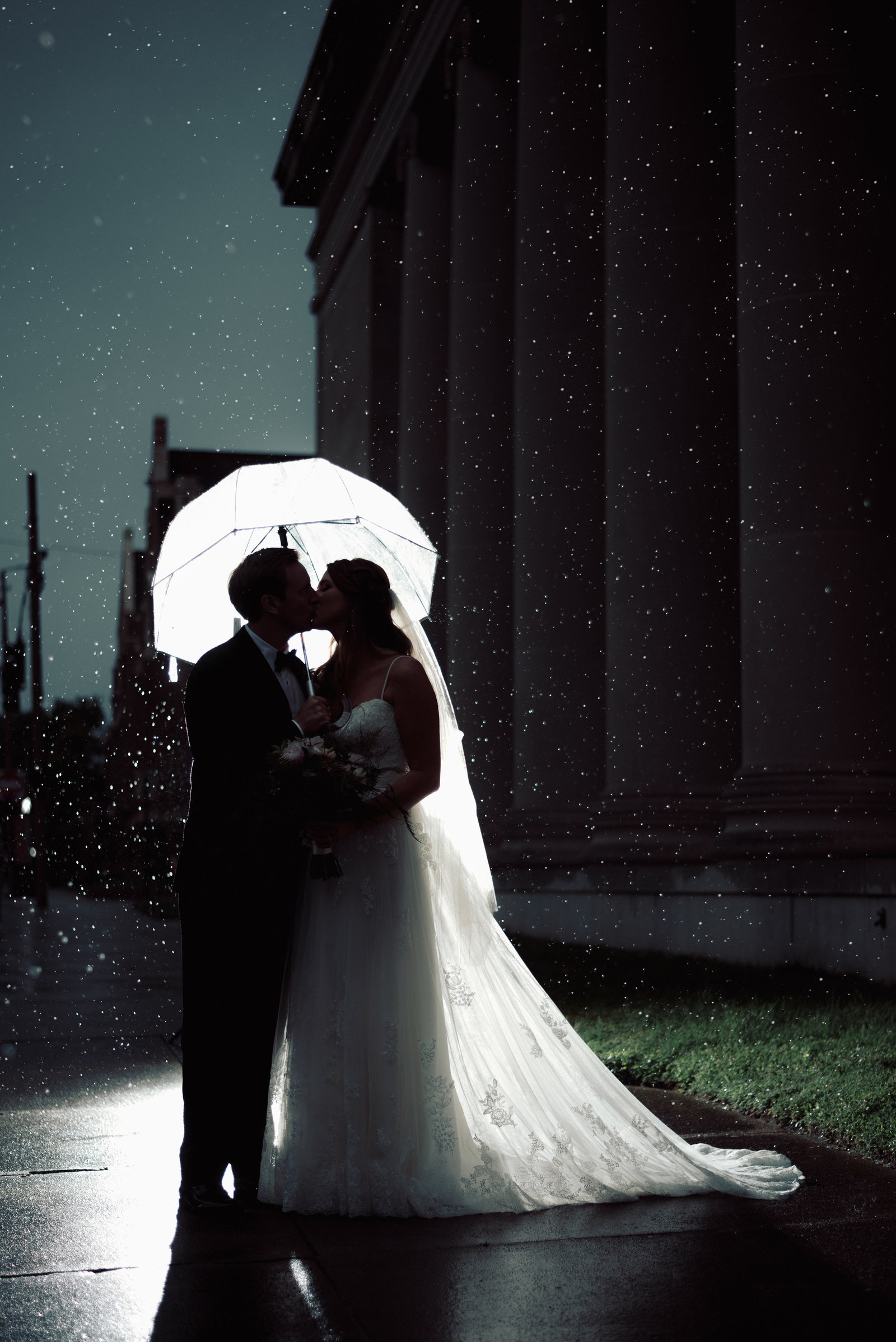 rain on a wedding day in Arkansas / Sterling Imageworks