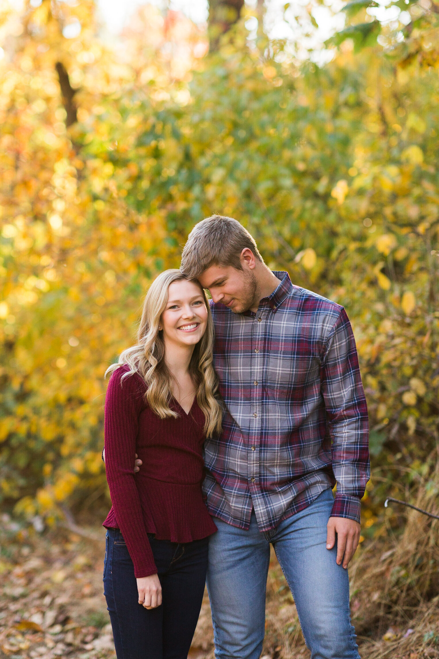 Fall Mountain Engagement Session in the Shenandoah Valley-12