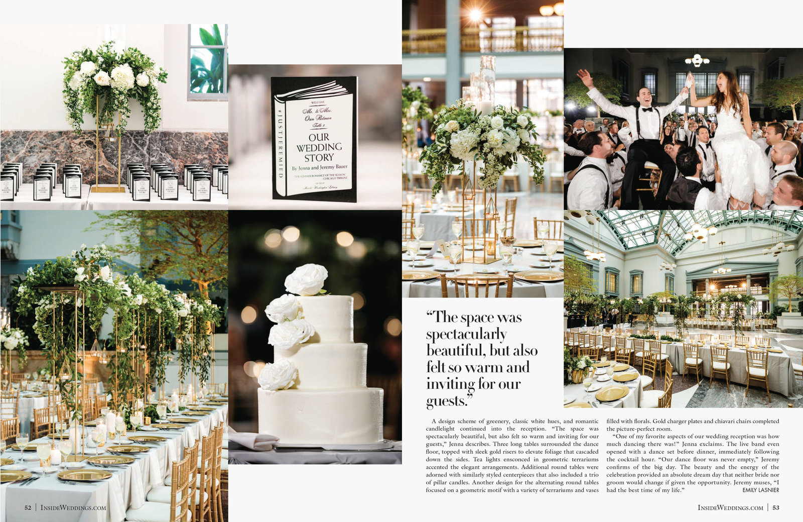 Inside Weddings_Summer 2019 - Pages 52-53