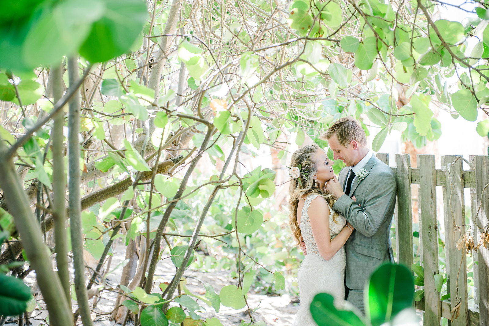 Secret Garden Wedding - Hilton Singer Island Wedding - Palm Beach Wedding Photography by Palm Beach Photography, Inc.